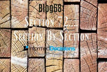 Blog68- A Last Resort……Section 72 Plans