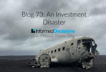 Blog73: My Biggest Investment Lesson, So Far!