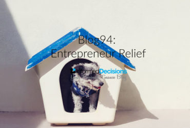 Blog94: Is 'Entrepreneur Relief' Any Use To Me??