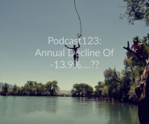 Podcast123: Fancy Annual Declines Of 13.9%??